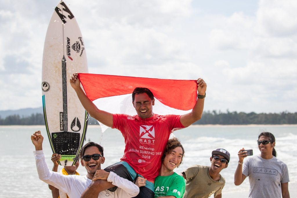 Raditya Rondi And Dhea Natasya Claim Wins And RAST 2018 Shortboard Championships On Day Two Of RAST #3