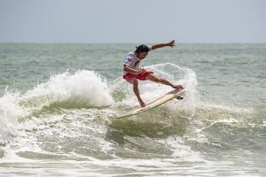 Shortboard Showdown On Day One Of RAST #3 At Cherating Beach In Malaysia