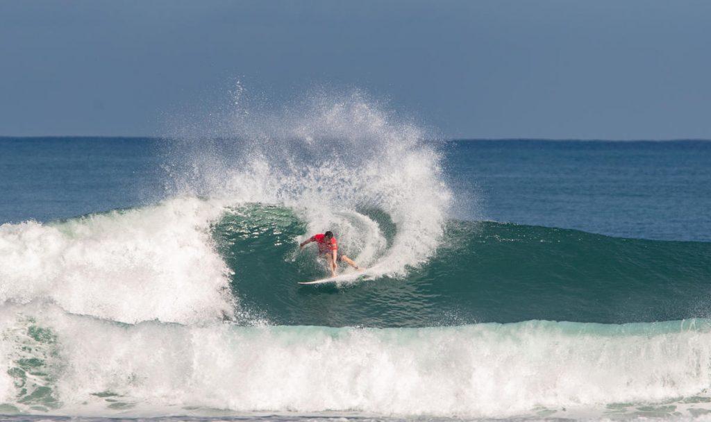 Sumatra QS Start In Pumping Surf