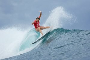 Women's Quarterfinalists Decided as Reigning World Champion Gabriel Medina Arrives at Krui Pro