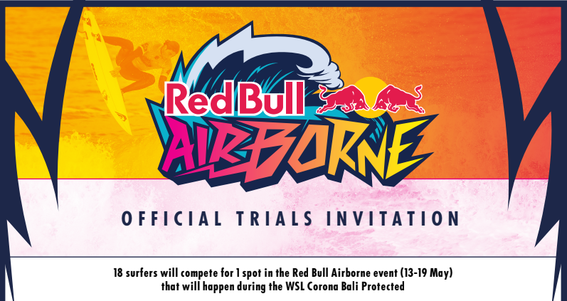 RED BULL AIRBORNE BALI TRIALS WILL DECIDE INDONESIAN ENTRY INTO THE MAIN EVENT