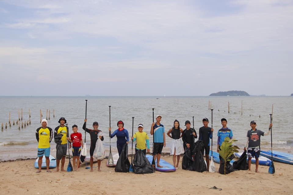 Successful SUP Summer Activities Camp for Phuket Local Youth 2019 by Surfing Thailand