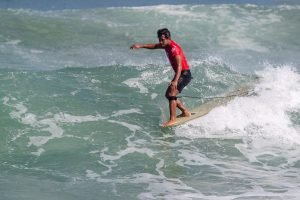 Full Day of Longboard Competition on Day 3 of RAST 1 at Padma Beach Determines Men's and Women's Longboard Semifinalists