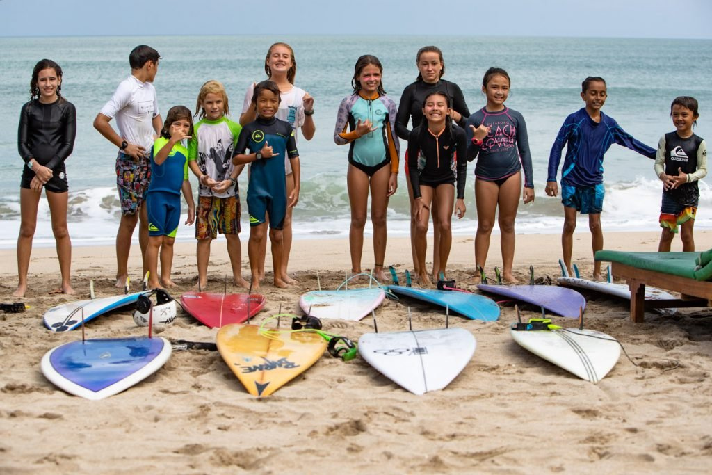 Tipi Jabrik's Grom Patrol Surf Training Camp Starts Off Today at Kuta Beach