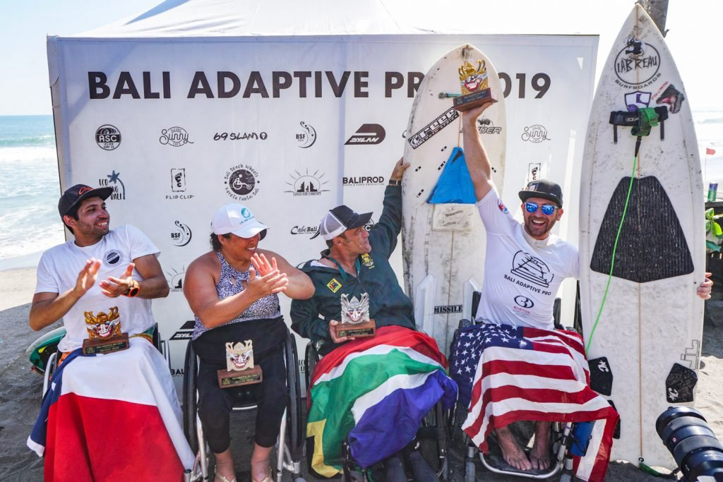 Bali Adaptive Pro Presented by Burton Automotive Crowns Champions to Conclude History-Making Surfing Event