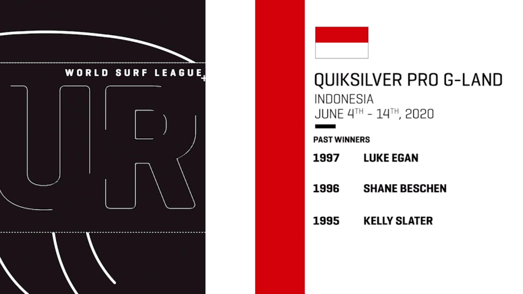 QUIKSILVER MAKES SURFING HISTORY, ANNOUNCING THE RETURN OF THE QUIKSILVER PRO G-LAND TO THE 2020 WSL WORLD SURF TOUR